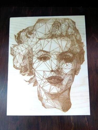 Мерлин Монро. Стиллизованный портрет без рамки. Формат А4 - 700 руб. Формат А3 1200 руб