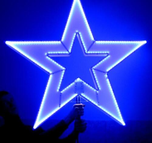 звезда с подсветкой 1м Х 1м