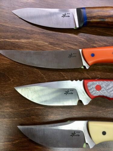 Нанесение логотипа на нож
